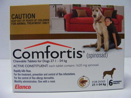 Comfortis 27.1kg - 54kg - 6 Tabs