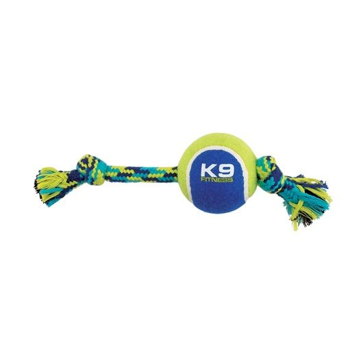 Double Knotted Rope and Tennis Ball by Zeus