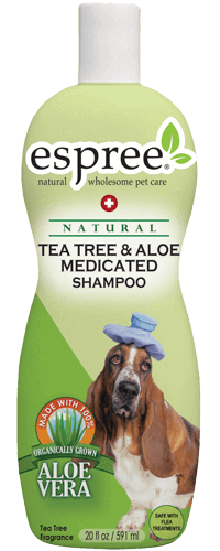Espree Tea Tree and Aloe Medicated Shampoo 591ml