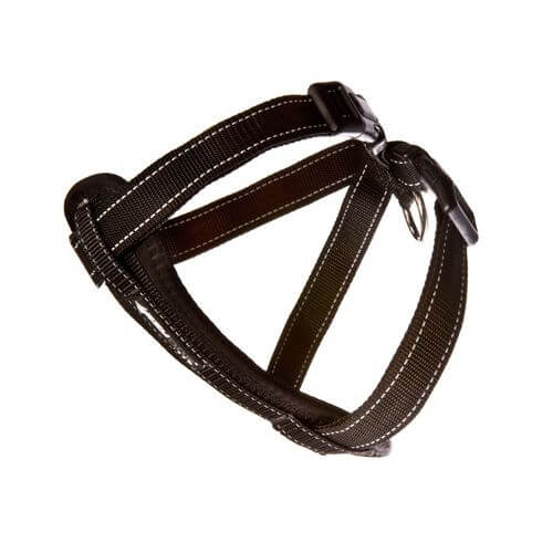 Ezy Dog Chest Harness Black medium