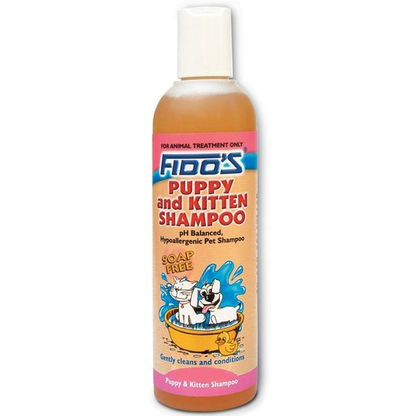 Fido+96s Puppy and Kitten Shampoo   250ml