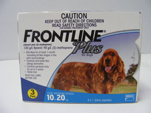 Frontline Plus 10kg   20kg   3pk
