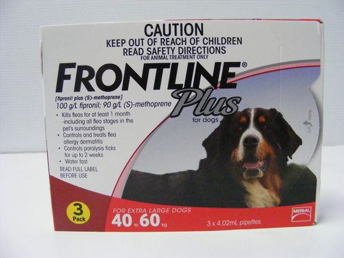 Frontline Plus 40kg - 60kg - 3pk