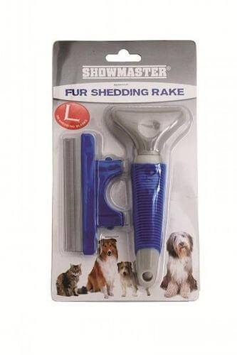 Fur Shedding Rake large ShowMaster