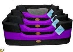 Itand39s Bed Time AllTerrain Basket Bed PurpleGrey xlarge