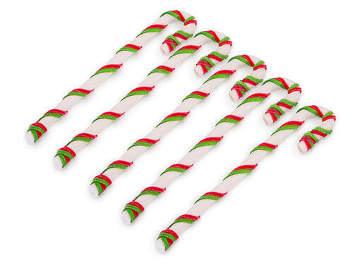 Kazoo Christmas Laced Candy Cane 5pack