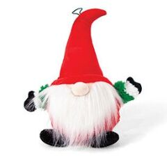 Kazoo Christmas Plush Gnome wspace ball small