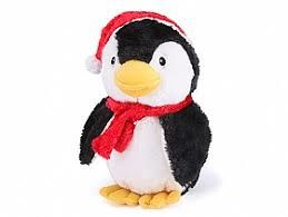 Kazoo Christmas Plush Penguin small