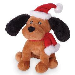 Kazoo Christmas Plush Puppy
