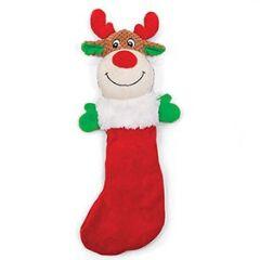 Kazoo Christmas Plush Reindeer in stocking large