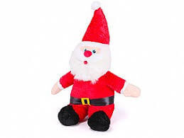 Kazoo Christmas Plush Santa medium