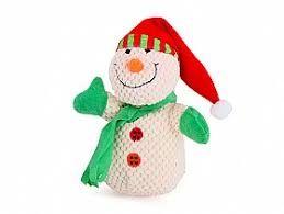 Kazoo Christmas Plush Snowman medium
