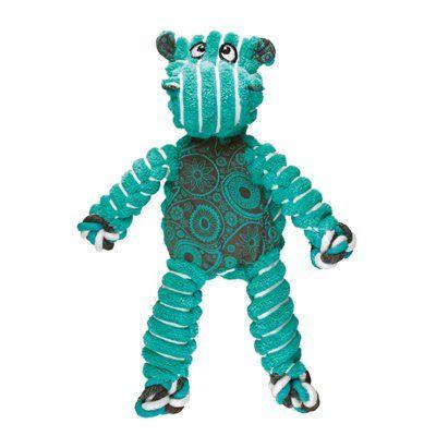 Kong Floppy Knot Hippo medlarge