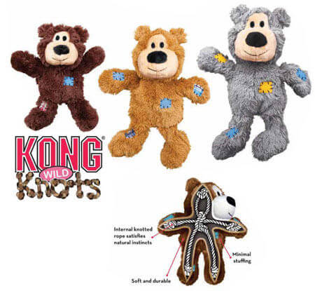 Kong Wild Knot Bear smallmedium