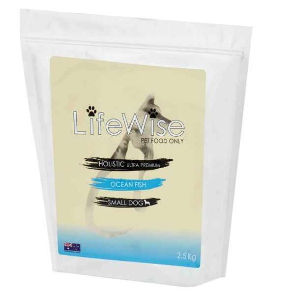 LifeWise Ocean Fish with rice and vegetables 25kg Small Bites