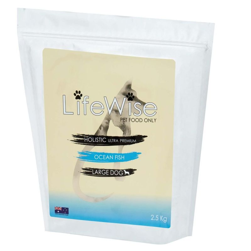 LifeWise Ocean Fish with rice and vegetables 9kg Large Bites