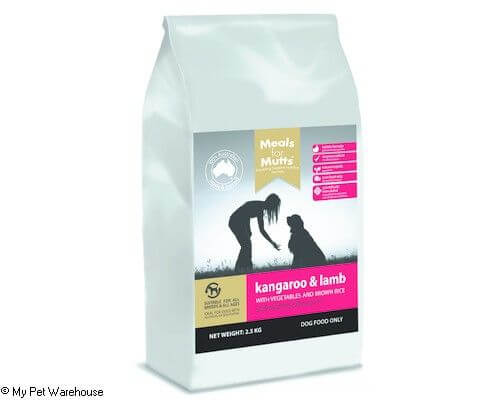 Meals fof Mutts Dry Food Kangaroo and Lamb 25kg