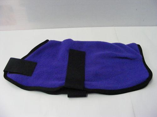 Polar Fleece Dog Coat 20cm Purple