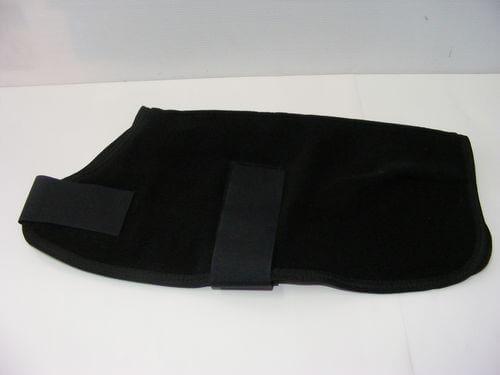 Polar Fleece Dog Coat 25cm Black
