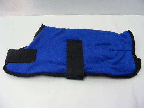 Polar Fleece Dog Coat 25cm Royal Blue