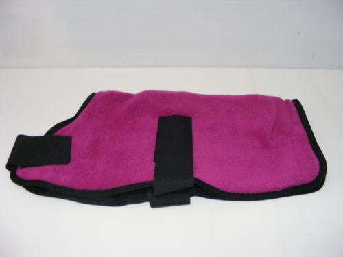 Polar Fleece Dog Coat 35cm Pink