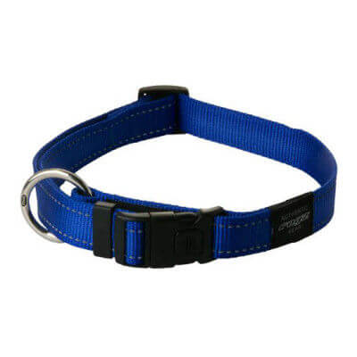 Rogz Collar Fanbelt 34 56cm Blue