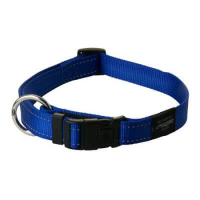 Rogz Collar Nitelife 20 31cm Blue