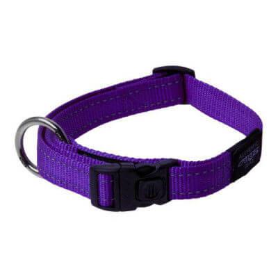 Rogz Collar Snake 26 40cm Purple