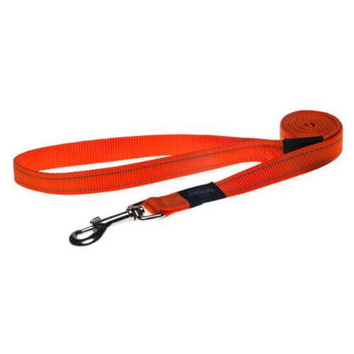 Rogz Lead Snake Orange