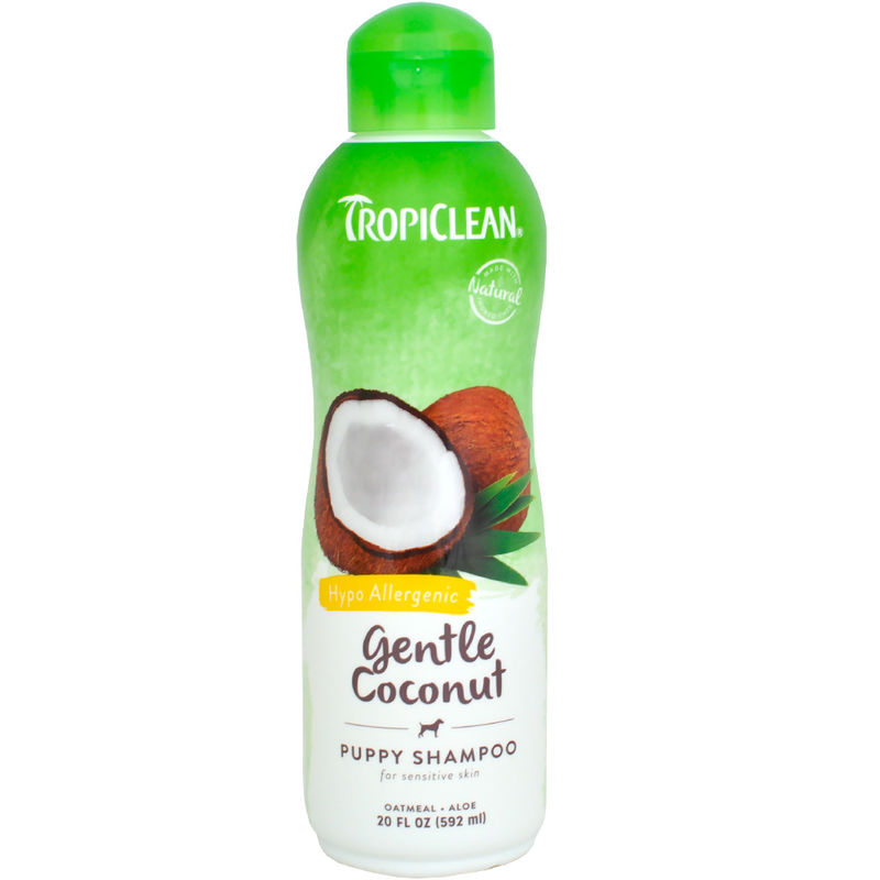 Tropiclean Grntle Coconut Puppy Shampoo 355ml