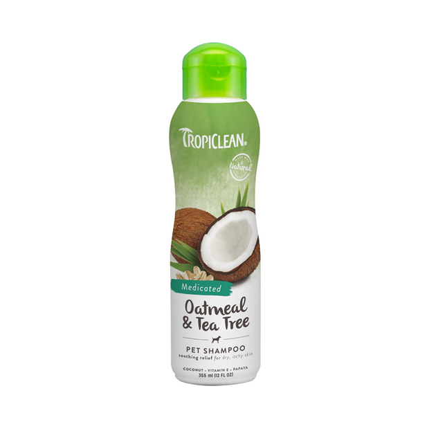 Tropiclean Oatmeal and Tea Tree Shampoo