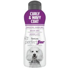 Tropiclean Perfect Fur Curly and Wavy Coat Shampoo 473ml