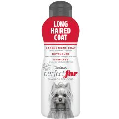 Tropiclean Perfect Fur Long Haired Coat Shampoo 473ml