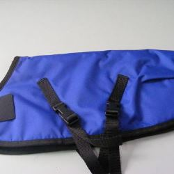 Ripstop Nylon Dog Coat Waterproof Blue 50cm