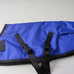 Ripstop Nylon Dog Coat Waterproof Blue 55cm