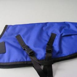 Ripstop Nylon Dog Coat Waterproof Blue 60cm