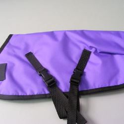 Ripstop Nylon Dog Coat Waterproof Purple 60cm