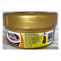 Anti Spill Pet Water Bowl Gold