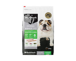 Black Hawk Dry Food Chicken and Rice 20kg