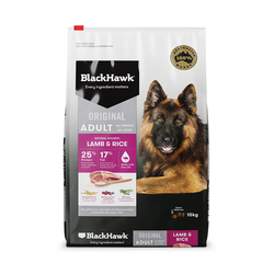 Black Hawk Dry Food Lamb and Rice 10kg