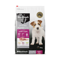Black Hawk Dry Food Puppy Lamb and Rice 20kg