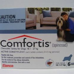 Comfortis 18.1kg - 27kg - 6 Tabs