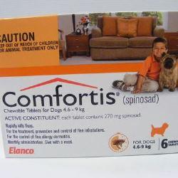 Comfortis 4.6 - 9kg - 6 Tabs