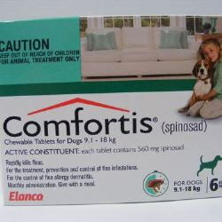 Comfortis 9.1kg - 18kg - 6 Tabs