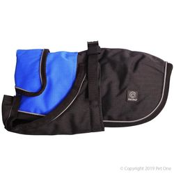 Dog Coat Blizzard Water Proof Blue 70cm