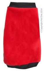 Dog coat Night Comfy Red 60cm