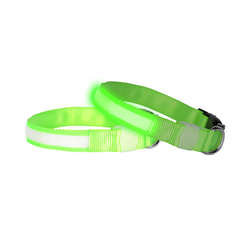 Doglite Green Glow medium 38-50cm