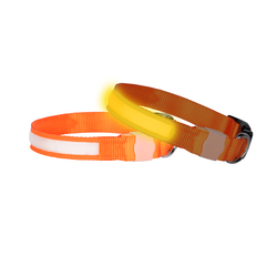 Doglite Orange Sunset medium 38-50cm