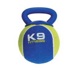 Extra-Large Tennis Ball with Rubber Handle by Zeus