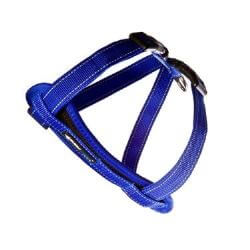 Ezy Dog Chest Plate Harness Blue medium
